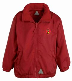 *Nursery & Reception Only* Red Mistral Jacket - Embroidered with Dame Allan's Junior School logo