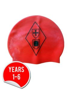 Swimming Cap - with Dame Allan's Junior School Logo