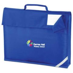 Royal Bookbag - Embroidered with Darras Hall Primary School logo