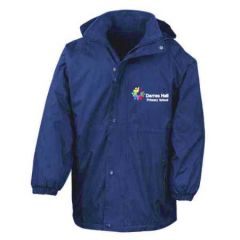 Royal Stormproof Coat - Embroidered With Darras Hall Primary School Logo