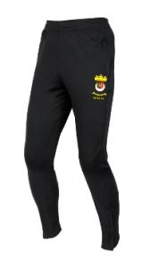 Black Skinny Track Pants  - Printed with Duchess High School logo
