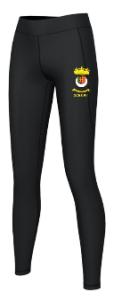 Black Academy Stretch Leggings - Printed with Duchess High School logo