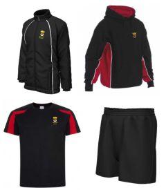PE KIT DEAL 1 - Rain Jacket, Hoodie, T-Shirt & Shorts - for Duchess High School