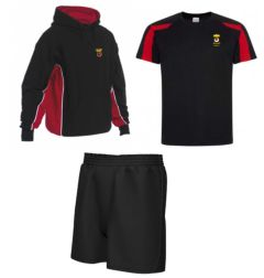 PE KIT DEAL 2 - Hoodie, T-Shirt & Shorts - for Duchess High School