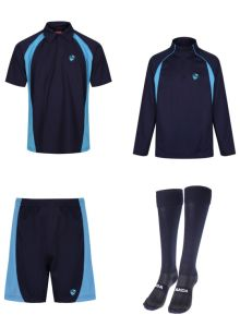PE KIT DEAL 1 (Polo, Shorts, Socks & Midlayer) - Embroidered with Hermitage Academy Logo