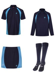 PE KIT DEAL 2 (Polo, Skort, Socks & Midlayer) - Embroidered with Hermitage Academy Logo
