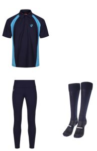 PE KIT DEAL 3 (Polo, Leggings & Socks) - Embroidered with Hermitage Academy Logo