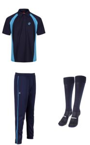 PE KIT DEAL 4 (Polo, Trackpants & Socks) - Embroidered with Hermitage Academy Logo