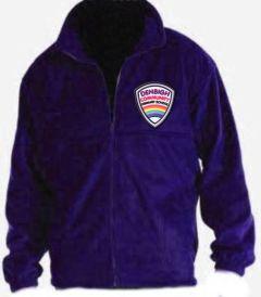 Purple Fleece - Embroidered With Denbigh Primary School Logo