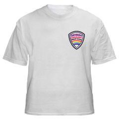 White T-shirt - With Denbigh PS Logo
