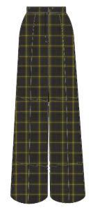 Tartan Girls Trousers - for Durham High School