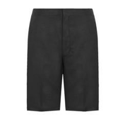 Boys Black Bermuda Shorts (947)