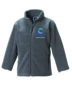 Convoy Grey Fleece - Embroidered with Cleaswell Hill School Logo