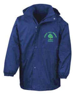 Royal Exmoor Waterproof Jacket - Embroidered With Forest Hall Primary School Logo