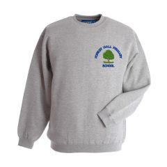 Grey Sweatshirt (Nursery Only)- Embroidered With Forest Hall Primary School Logo
