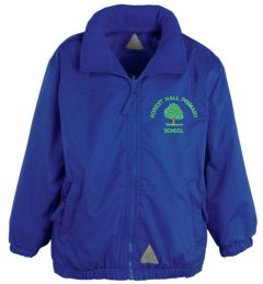 Royal Mistral Shower Proof Jacket - Embroidered With Forest Hall Primary School Logo