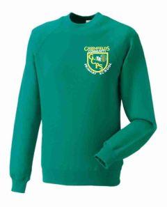 *SALE ITEM* Jade Sweatshirt - Embroidered with Greenfields Community Primary School logo