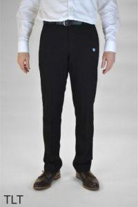 Boys Black Slim Leg Trousers (TLT) - Embroidered with George Stephenson High School Logo