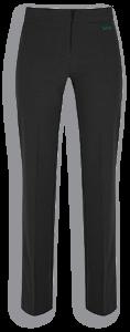 Black Senior Girls Twin Pocket Trouser (GTN) - Embroidered with Walker Riverside Academy Logo