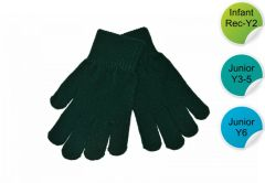 Stretch Gloves - for Durham High School