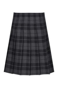 Castle Tartan Stitch Down Pleat Tartan Skirt (GST) for St Thomas More academy N/Shields