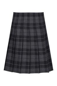 Castle Tartan Stitch Down Pleat Tartan Skirt (GST)