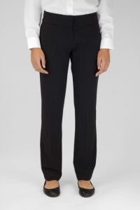 Senior Girls Black Twin Pocket Trouser (GTN)
