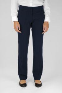 Navy Senior Girls Twin Pocket Trouser (GTN)