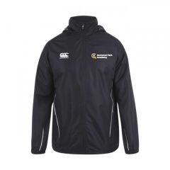 Canterbury Team Full Zip Rain Jacket - Embroidered with Jesmond Park Academy Logo