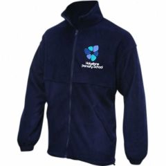 Navy Fleece - Embroidered with Holystone logo
