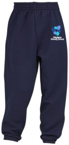 Navy Jog Bottoms (Reception) - Embroidered with the Holystone Primary School Logo