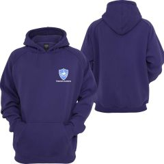 Purple Hoodie - Embroidered with Grasmere Academy Logo