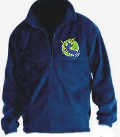 Royal Polar Fleece - Embroidered With Hotspur Primary School Logo