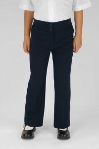Navy Junior Girls Twin Pocket Trouser (JGTN)