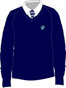 Boys Jumper - Embroidered with Hermitage Academy Logo