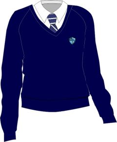 Girls Jumper - Embroidered with Hermitage Academy Logo