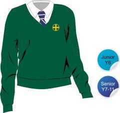 Jumper - Embroidered with Durham High School Logo