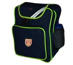 Navy Junior Backpack - Embroidered with Kings Priory School logo