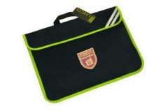 Navy Infant Bookbag - Embroidered with Kings Priory School logo