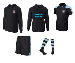 PE Kit Deal 1 (Polo, Shorts, Socks Hoodie) - for Chantry Middle School