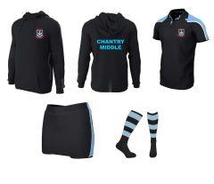 PE Kit Deal 2 (Polo, Skort, Socks Hoodie) - for Chantry Middle School