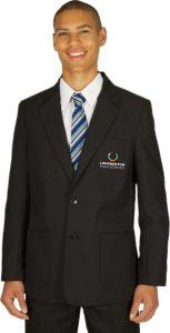 Boys Black Blazer - Embroidered with Longbenton High School Logo