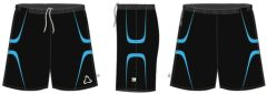 Black + Sky PE Shorts (Compulsory For Boys) - Embroidered with Longbenton High School Logo