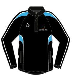 Black + Sky Splash Top (Optional) - Embroidered with Longbenton High School Logo