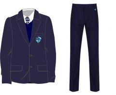 Main Uniform Kit Deal 2 (Boys Blazer + Trousers) for Hermitage Academy