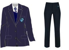 Main Uniform Kit Deal 3 (Girls Blazer + Trousers) for Hermitage Academy