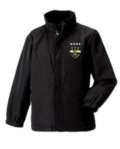 Black Reversible Coat (Optional) - Embroidered with Marden Bridge Middle School Logo