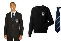 Boys Black Blazer, Black Jumper & Tie *Special Deal* - for Marden High School