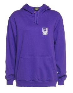 Purple PE Hoody - Embroidered With Marden High School Logo