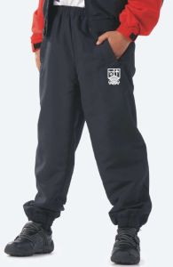 Black Tracksuit Bottoms - Embroidered with Marden High School Logo
